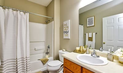 Bathroom, Retreat at Ragan Park, 2