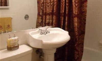 Bathroom, Emerald Village Apartments, 2