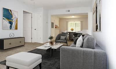 Living Room, GreenView East, 0