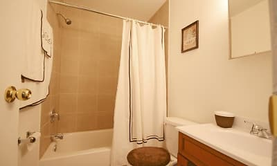Bathroom, Pangea Parkwest Apartments, 2