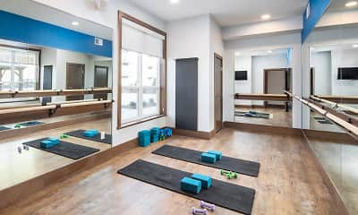 Fitness Weight Room, Edison at Spirit, 2