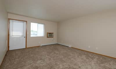 carpeted spare room with natural light and baseboard radiator, Luxford Court Apartment Community, 2