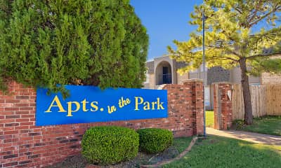 Community Signage, Apts in the Park, 2