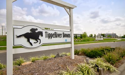 Community Signage, TippeRiver Downs, 2