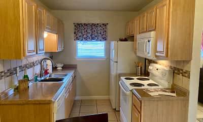 Kitchen, Eastgate Ridge Apartments, 1
