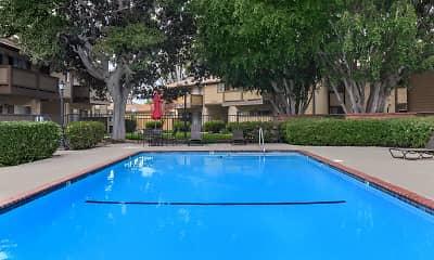 Pool, The Timbers Apartment Homes, 1