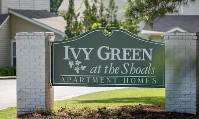 Community Signage, Ivy Green at The Shoals, 0