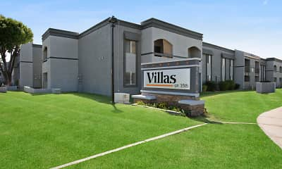 Community Signage, The Villas on 35th, 2