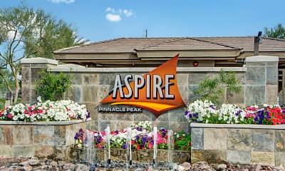 Community Signage, Aspire Pinnacle Peak Apartment Homes, 2
