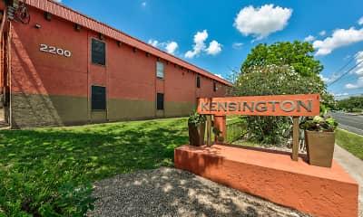 Community Signage, Kensington Green, 2