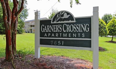 Community Signage, Garners Crossing Apartments, 2