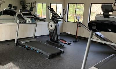Fitness Weight Room, Peppertree Apartments, 2