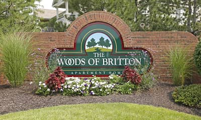 Community Signage, Woods of Britton, 0