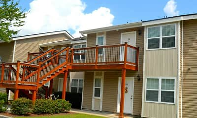 Patio / Deck, Meadowbrook Apartments, 2