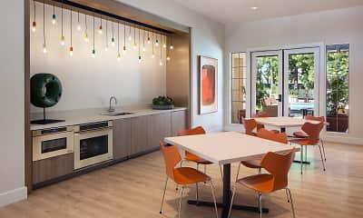 Dining Room, Rancho Mariposa Apartments, 1