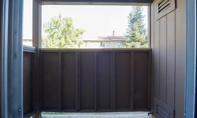 Patio / Deck, Riverbank Condominiums, 2