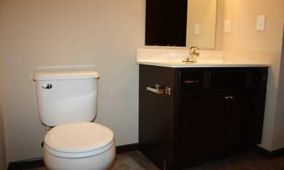 Bathroom, Meadow Springs Apartments, 2