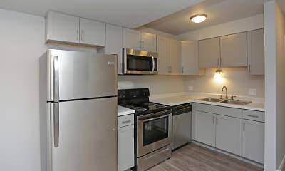 Kitchen, Downtown West Apartments, 0