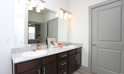 Bathroom, The Curve at Crescent Pointe, 2