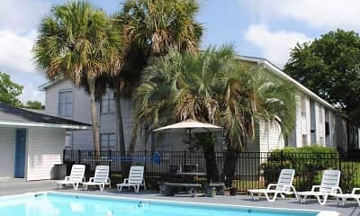 Pool, Tillman Park Apartments, 0