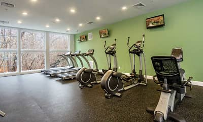 Fitness Weight Room, The Cove, 2