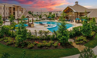 Pool, Landmark at Spring Cypress, 1