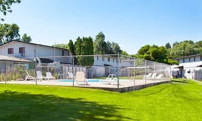 Pool, Townhouse Villas, 1