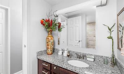 Bathroom, Three Rivers Luxury Apartments, 2