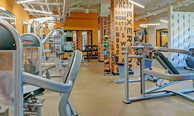 Fitness Weight Room, The Grand Cherry Hill Apartment Homes, 1