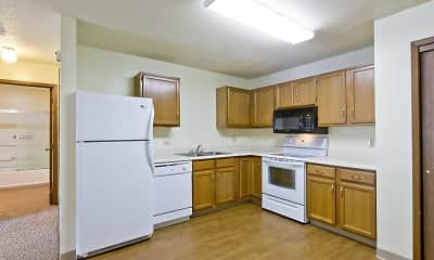 Kitchen, Spruce Pointe Apartments, 0