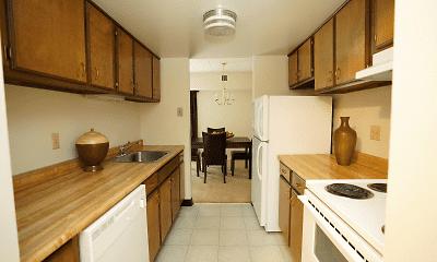 Kitchen, Toftrees Apartments, 0