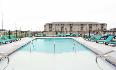 Pool, The Sterling Apartments at Grand Island, 2