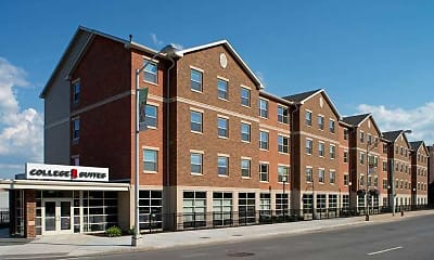Building, College Suites at Washington Square - Per Bed Lease, 1