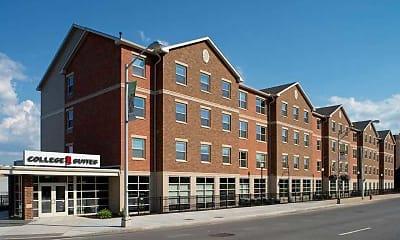 Building, College Suites at Washington Square - Per Bed Lease, 1