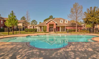 Pool, Green Pines Apartments, 0