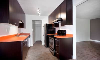 Kitchen, Beverly Grove Apartments, 1
