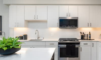 Kitchen, Anson Burlingame, 1