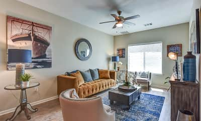 Living Room, The Villages at Fiskville 55 + Community, 0