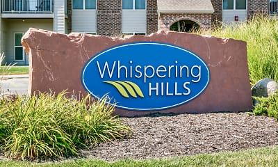 Community Signage, Whispering Hills, 2