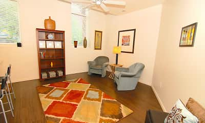 Living Room, Englewood Lofts, 0