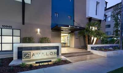 Community Signage, Avalon Studio City, 2
