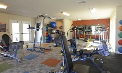 Fitness Weight Room, Advenir at the Meadows, 2