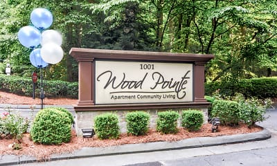 Community Signage, Wood Pointe Apartments, 2