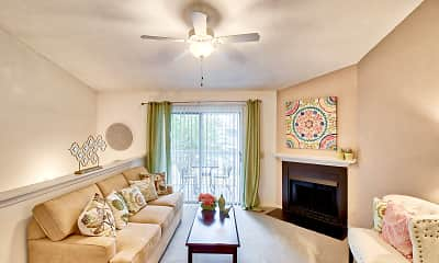 Living Room, Royal Pointe Apartments and Townhomes, 1