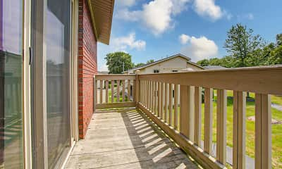Patio / Deck, The Residences at Buttonwood Park, 2