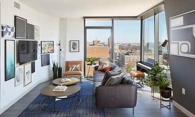 Living Room, One Hundred, 1