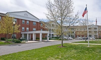 Building, Spring Ridge, 1