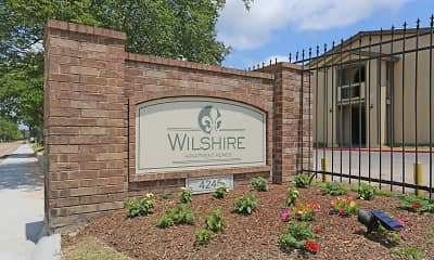Community Signage, The Wilshire Apartments, 2