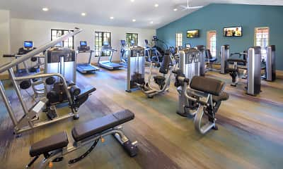 Fitness Weight Room, Orchard Hills, 2