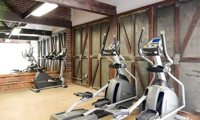 Fitness Weight Room, Gish Flats, 2